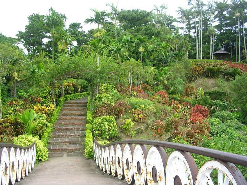 Ботанический сад гласневин