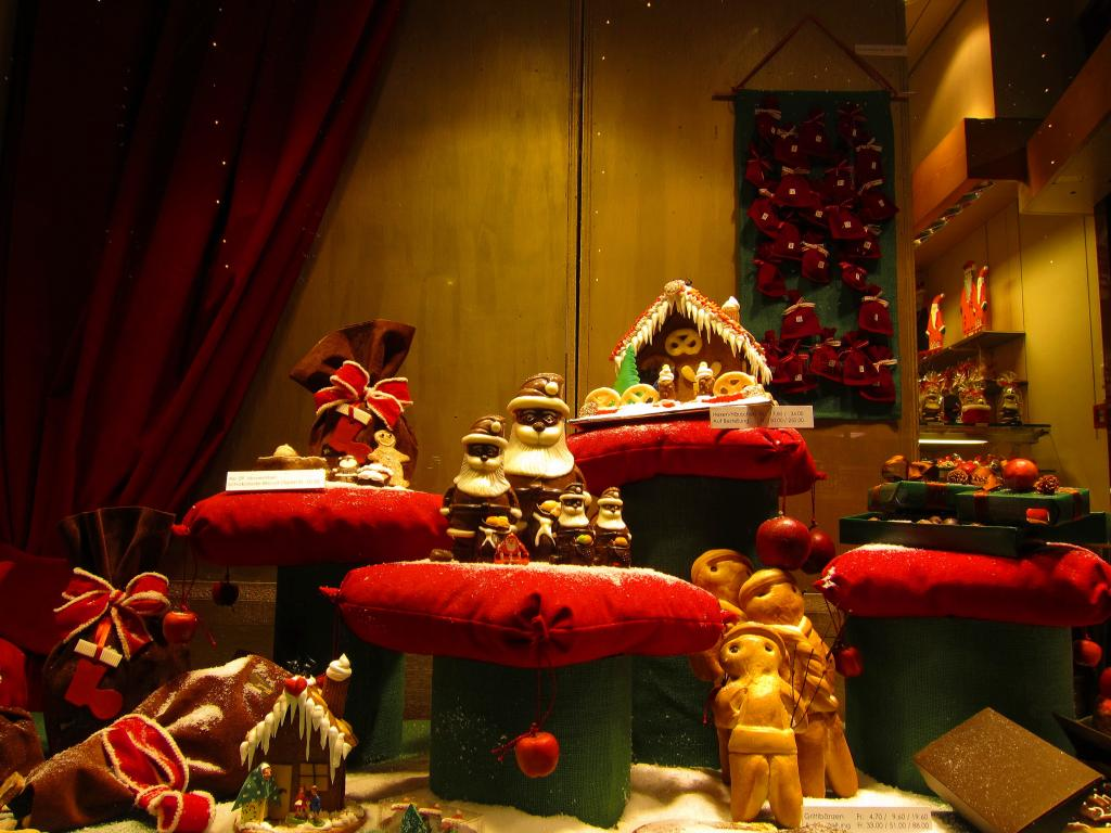 Сказочное рождество в цюрихе