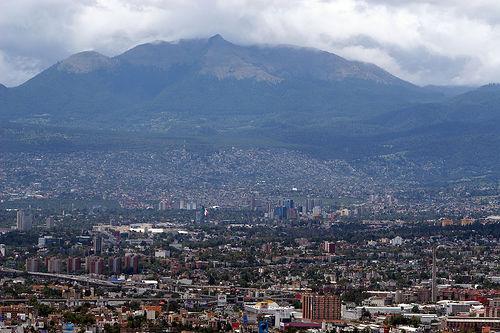 Красивая горная панорама в Мексике