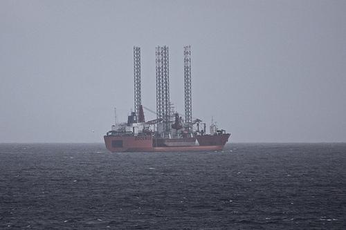 Корабли в океане Нидерландских Антильских о-вов