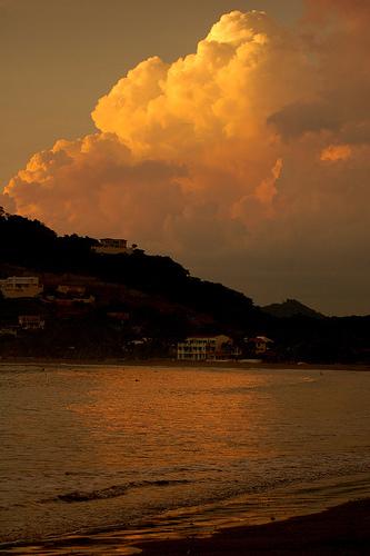 Чудный закат над Никарагуа