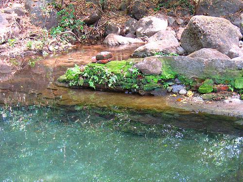 Каменистый берег Никарагуа