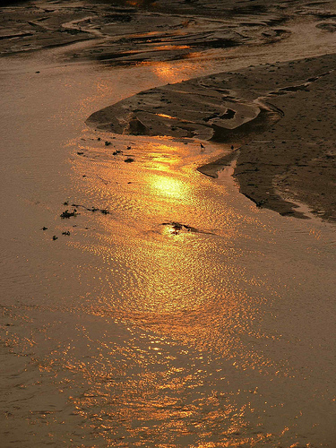 Вечернее побережье Никарагуа