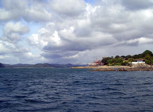 Берега Панамы со стороны океана