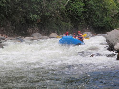 Экстрим-спорт на реках Панамы