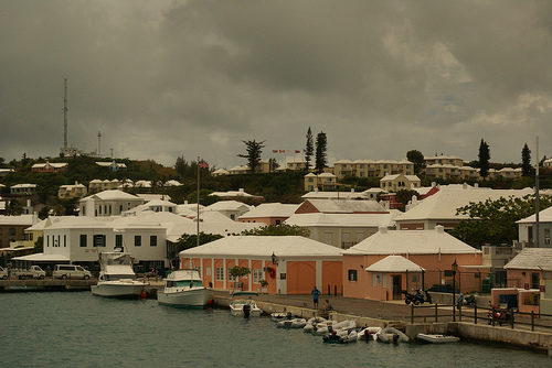 Типичный городок Сан-Мартена