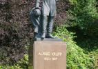 Эссен. Памятник Круппу