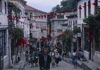 Город Гирокастра в Албании