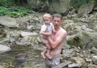 После купания в водопаде