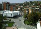 Город Кочани в Македонии