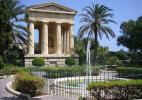 Верхние сады Барракка в Валетте