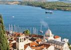 Город Шибеник в Хорватии