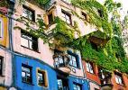 Дом Хундертвассера в Вене интересен для туристов