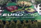 Клумба-эмблема Евро-2012