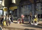 Улица города. Аддис-Абеба в Эфиопии