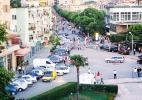 Город Лежа в Албании.