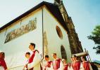 Город Санкт-Йохан (Понгау) в Австрии