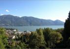 Город Аскона в Швейцарии