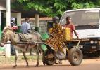 Местный транспорт. Бафата, Гвинея-Бисау