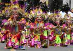 Город Баколод на Филиппинах. Фестиваль МассКара