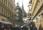 Город Брно в Чехии. Улица