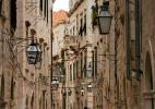 Город Дубровник в Хорватии. Улица
