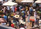 рынок в Аккре, Гана