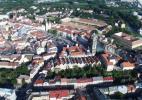Город Градец-Кралове в Чехии