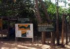 Вход в Национальный заповедник Абуко, Серекунда, Гамбия