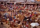 Знаменитый местный рынок Кеджетия, Кумаси, Гана