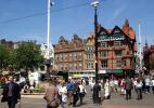 Город Ноттингем в Великобритании