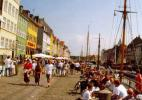 Нюхавн в городе Копенгаген в Дании