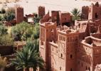 Город Уарзазат в Марокко. Касба Таурир. Дворец
