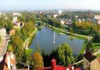 Город Паневежис в Литве