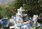 Могила буддийского монаха