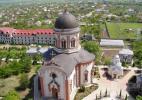 Вид с колокольни Кицканского монастыря.