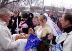 Свадьба в молдавском селе.