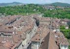 Вид на город Швейцарии