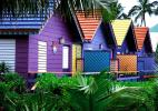 Разноцветные домики, Багамы