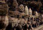 охранники Ангкор Ват, Камбоджа
