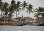 рыбацкие лодки, Гана