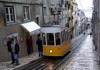 фуникулер в Лиссабоне, Португалия