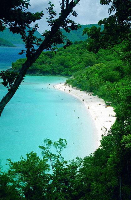 Красивейшие пляжи Виргинских островов